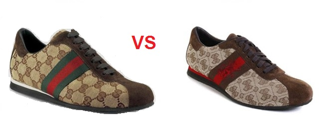 ¿Hay Copia? GUCCI VS GUESS