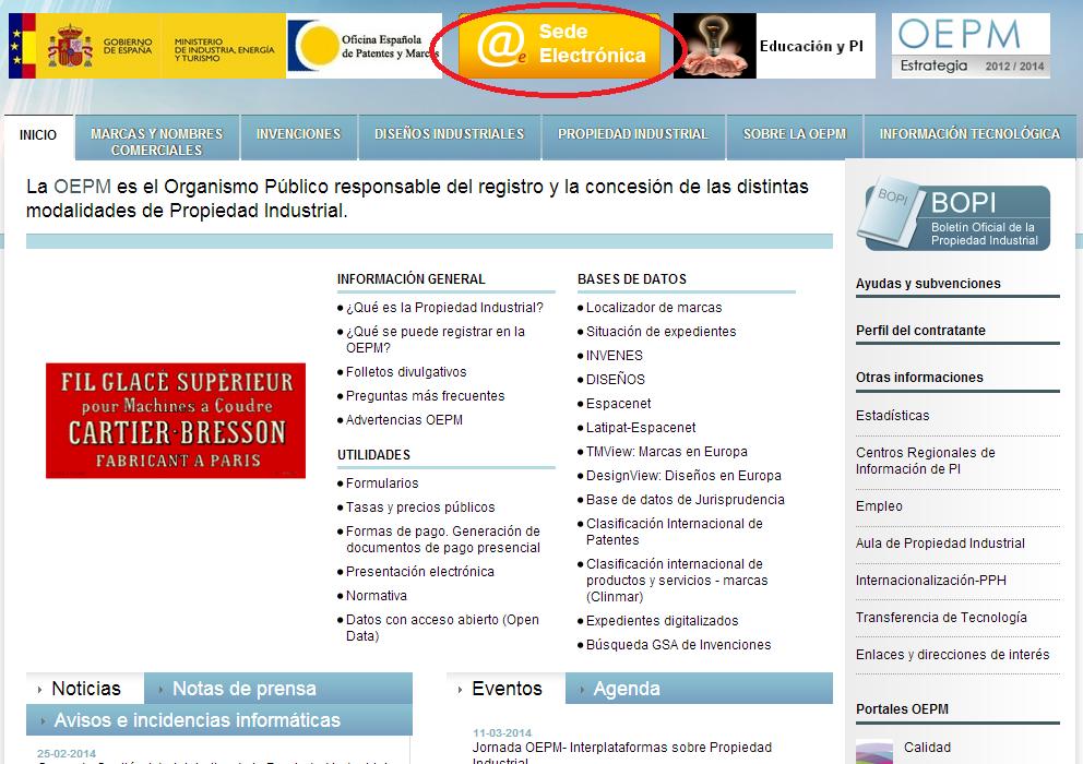 Blog c mo registrar una marca uno mismo for Bankia oficina de internet entrar