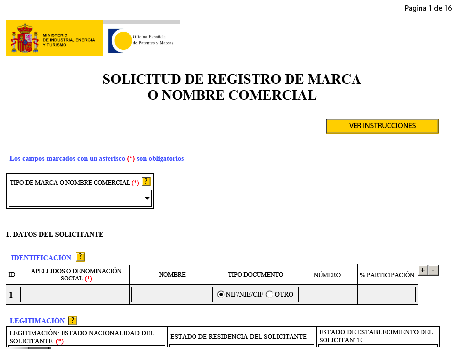 Blog c mo registrar una marca uno mismo for Oficina marcas y patentes madrid