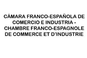 Camara franco espa ola de comercio e industria chambre for Chambre de commerce franco espagnole