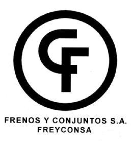 CF FRENOS Y CONJUNTOS S.A. FREYCONSA - Información sobre la marca