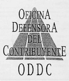 Oficina defensora del contribuyente oddc for Oficina del contribuyente