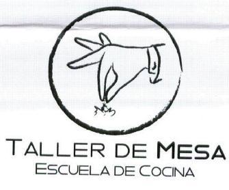 TALLER DE MESA ESCUELA DE COCINA